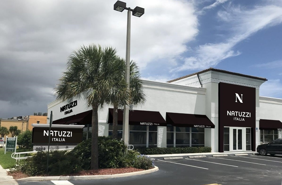 MMG Joint Venture acquires vacant Federal Highway retail building and leases it to Natuzzi Italia